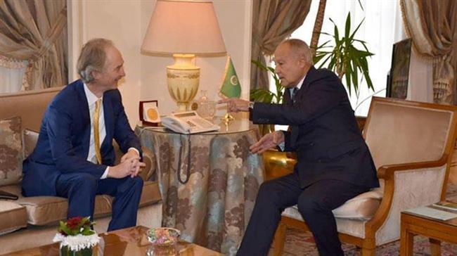 Arab League urges peaceful settlement to Syria crisis