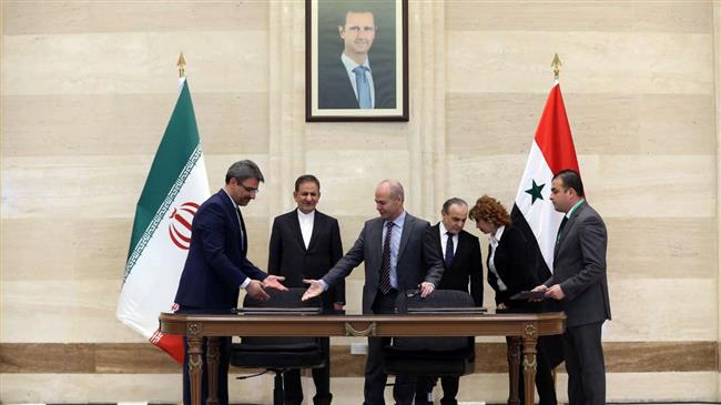 Iran, Syria shaping up Mideast with 'strategic' deal