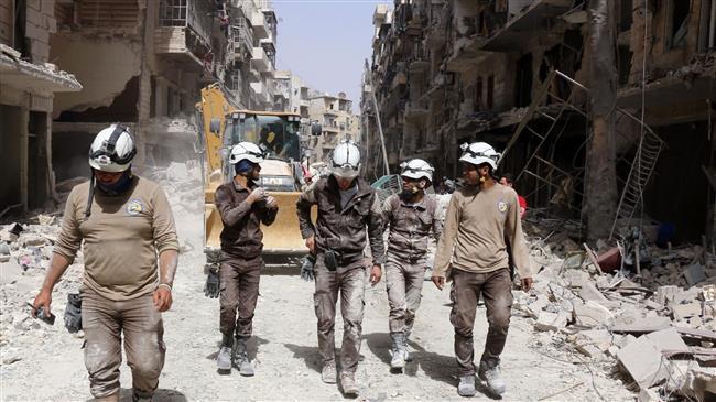 'White Helmets plotting fake gas attacks in Idlib'