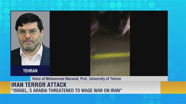 'Israel, Saudi provided logistic support for terror attack in Iran'