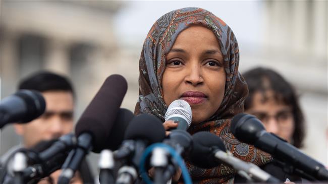 Muslim Congresswoman says Trump 'trafficking in hate'