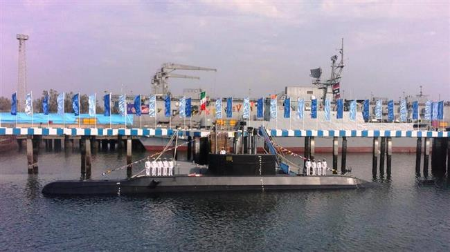 Iran unveils new submarine equipped with cruise missiles