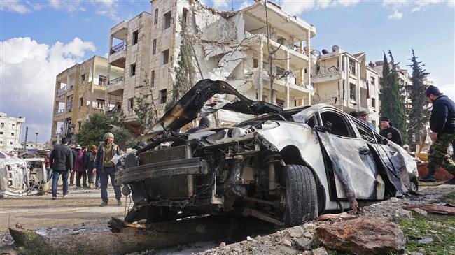 Twin bombings kill over dozen in Syria's Idlib