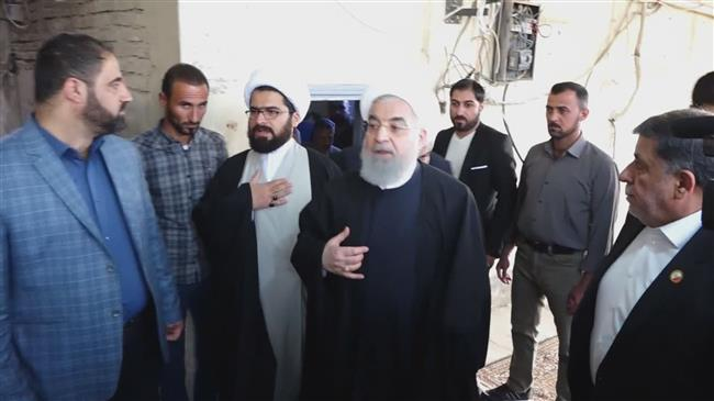 Iran's Rouhani ends three-day trip to Iraq in Najaf