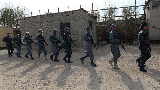 Dozens of Afghan border police surrender to Taliban