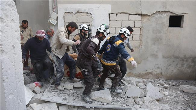 'US funds White Helmets, blocks aid to Syria refugees'