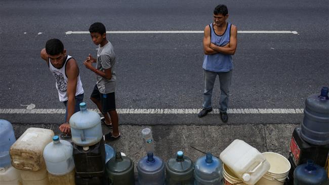 Venezuelans condemn 'economic aggression' by US