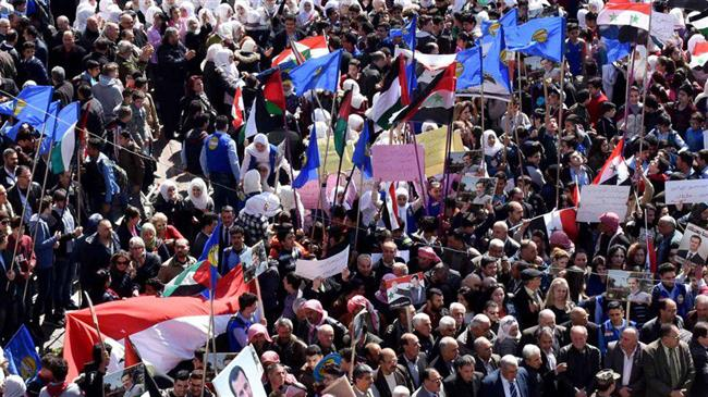 Syrians slam US recognition of occupied Golan as Israel's