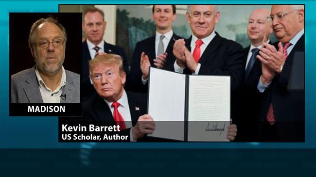 'Trump's belief that Golan belongs to Israel is delusion'