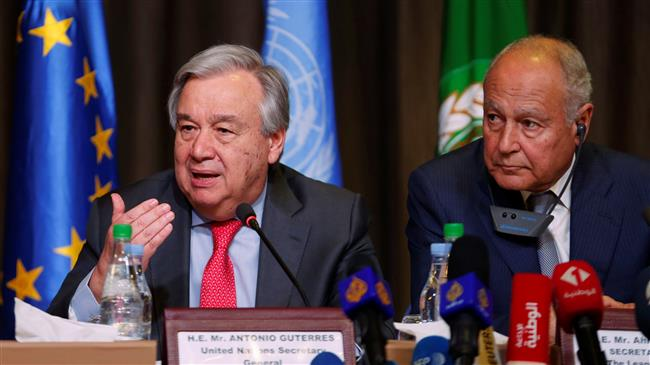 Any Syria resolution must guarantee its integrity: UN