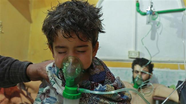 'UK, US and France behind chemical attacks in Syria'