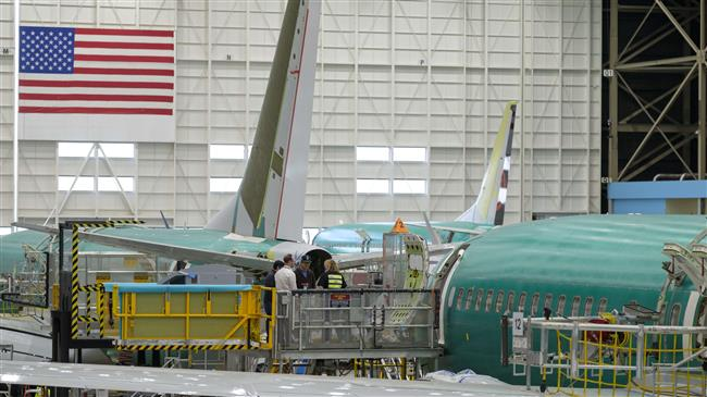 Boeing's share price declines after 737 production cut