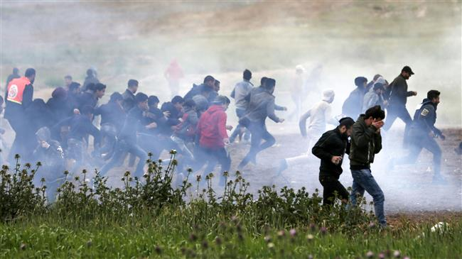 'Israel using lethal gases against Palestinian protesters'