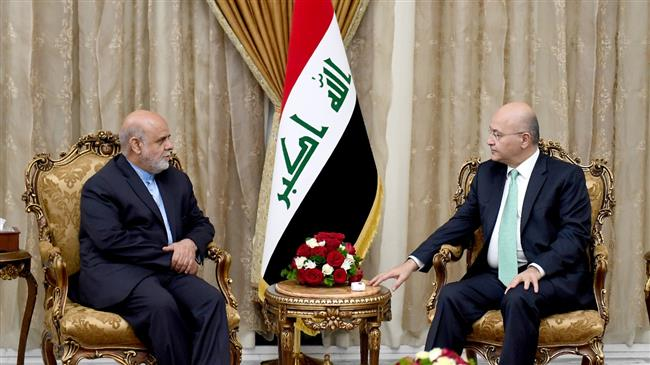 Iraq 'will be no starting point for action against neighbors'