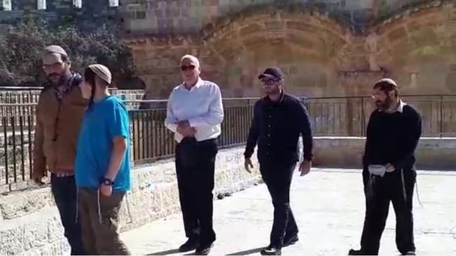 Israeli minister, settlers storm al-Aqsa compound