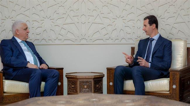 Assad: Mideast fate must be determined by its peoples