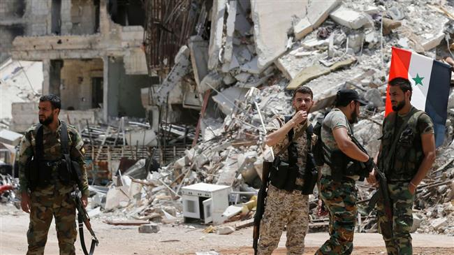 Terrorists kill over 60 soldiers east of Syria: Report