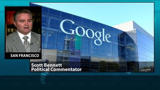 Google's ban on Press TV 'tyrannical, actionable'