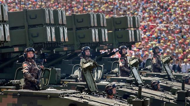 La politique militaire chinoise?