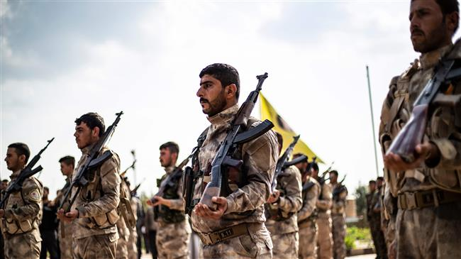 US-backed SDF militants open fire on Syrian protesters