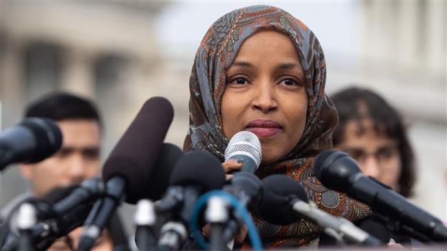 US beating drums of war with Iran: Rep. Ilhan Omar