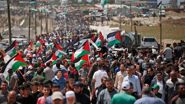 Palestinian refugees in Lebanon remember Nakba Day