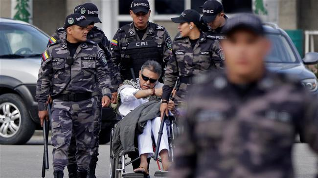 Colombian ex-FARC rebel rearrested minutes after leaving jail