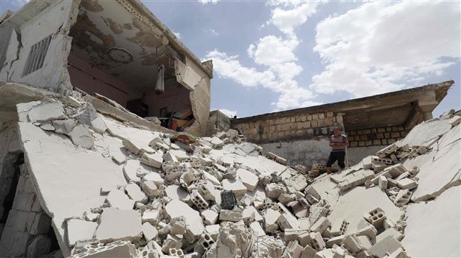 10 killed in double Daesh bombing in Syria's Raqqa