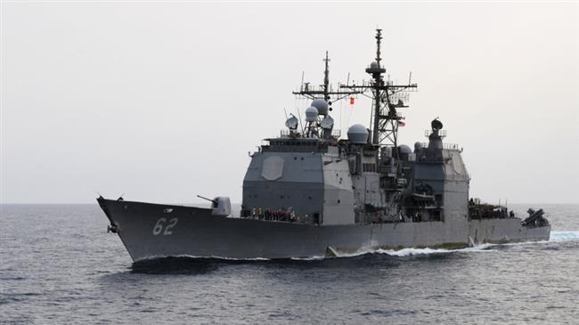 Russia: US warship nearly caused collision in China Sea