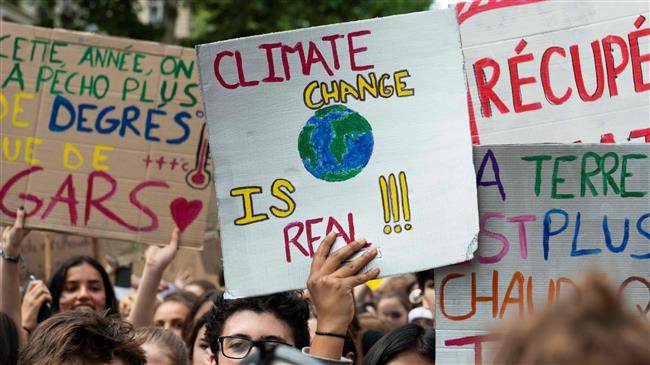 'Climate change posing threat to global peace'