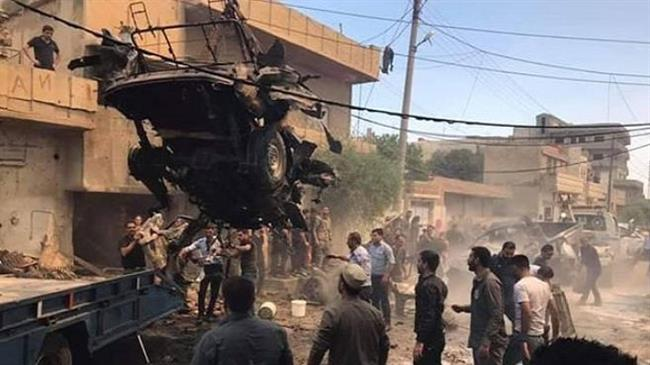Casualties reported as bomb explodes in northeast Syria