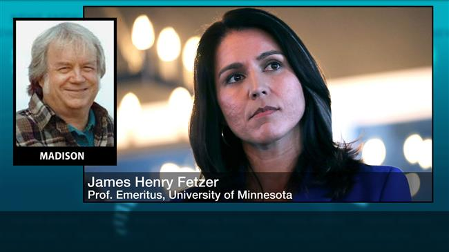 'US Rep. Tulsi Gabbard only candidate to end US wars'