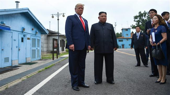Trump meets North Korea's Kim at DMZ