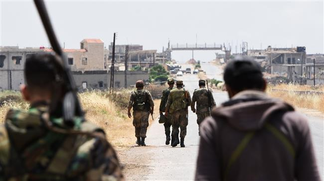 Syria army deals heavy blows to elite militants in Hama