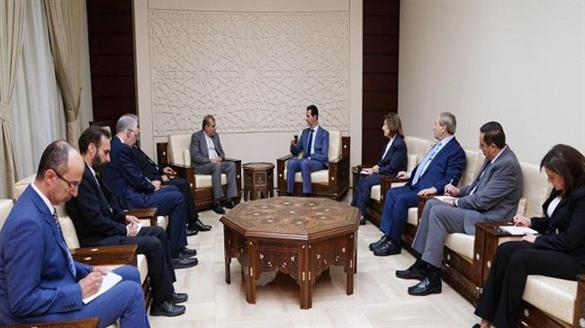 Assad: Syria will stand by Iran against all threats