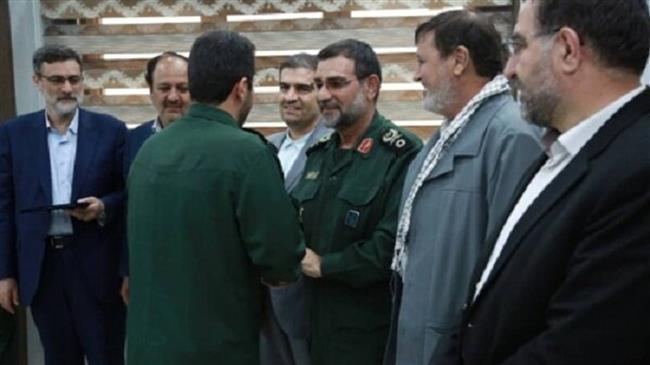 IRGC personnel honored for heroics in downing US drone