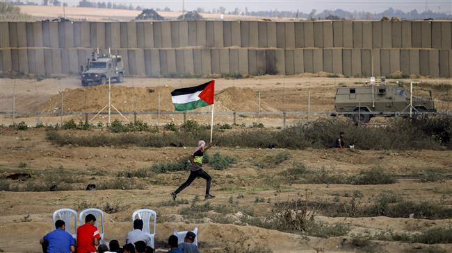 40 injured as Israel troops attack Gaza protesters