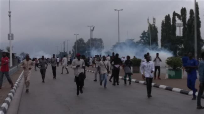 In pictures: Nigerian police fire at top cleric's supporters