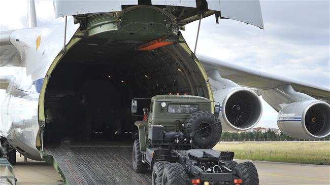 Russian S-400 missile systems arrive in Turkey