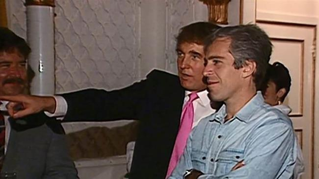 Video shows Trump partying with Epstein in 1992