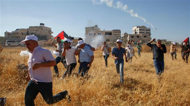 Palestinians protest Israeli-planned demolitions in village