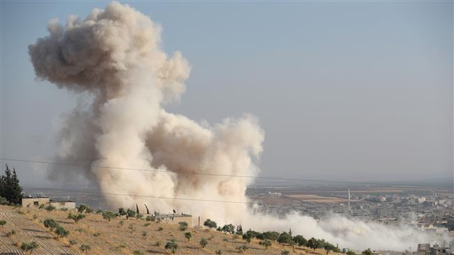 Syria recaptures strategic town in militant stronghold