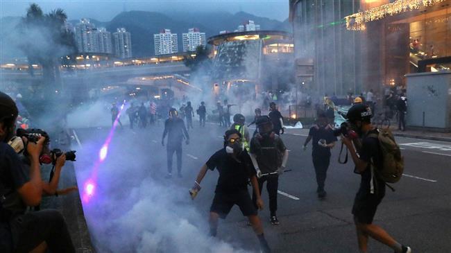 China warns Britain to stay out of Hong Kong riots