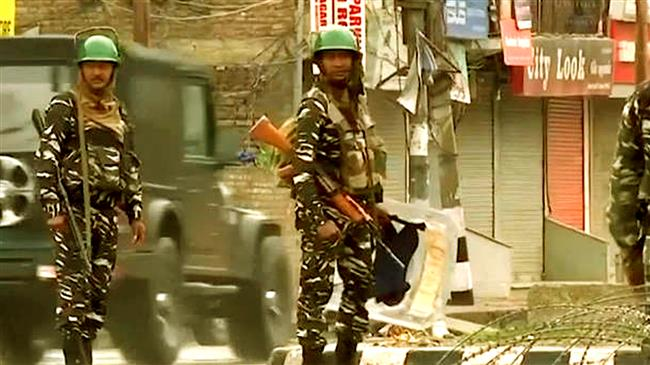 Crackdown on Kashmiri youth to contain protests