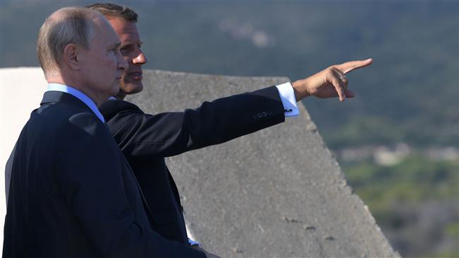 Putin backs Macron's initiative to save JCPOA