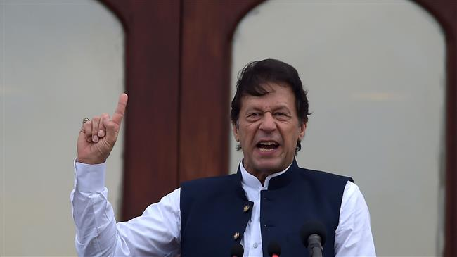 """Pakistan PM vows to fight till Kashmir """"liberated"""""""
