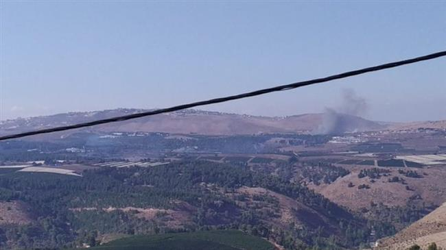 Hezbollah says targets Israeli military vehicle