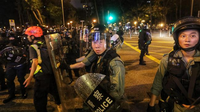 Hong Kong hit by fresh anti-govt. protests, clashes