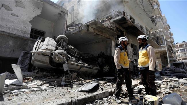 'White Helmets execute Syrians for misinformation'