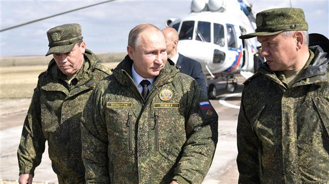 Russia tests intercontinental nuke missiles at Arctic drills